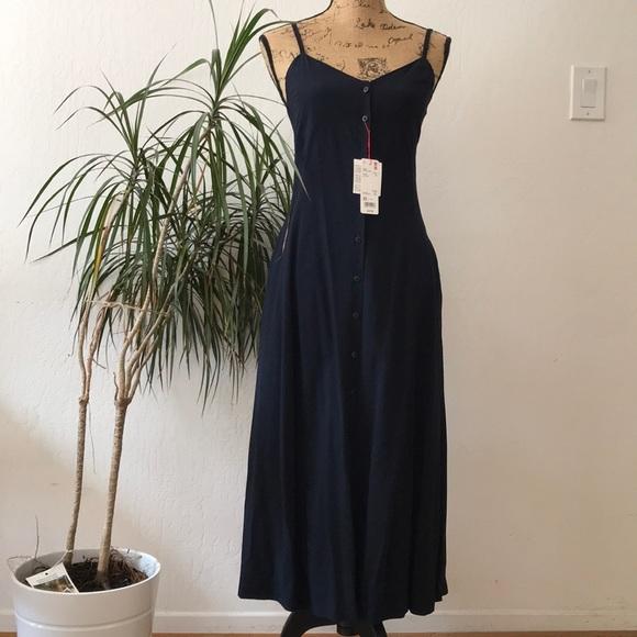 e5e8025ff6f8c Uniqlo Dresses | Ines De La Fressange Slip Dress | Poshmark